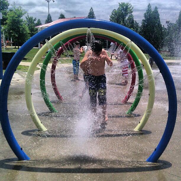 Water Park in Alabama Celebration Park Splash Pad