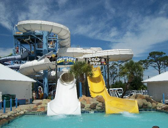 Water Park In Gulf Ss Alabama Escape House Waterville