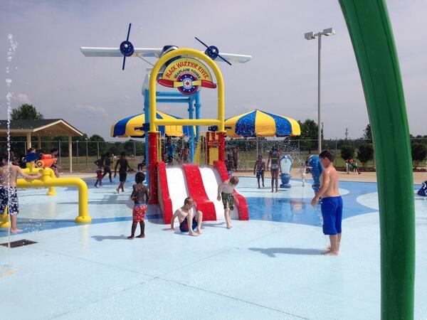 Water Parks Alabama Palmore Park Splash Pad