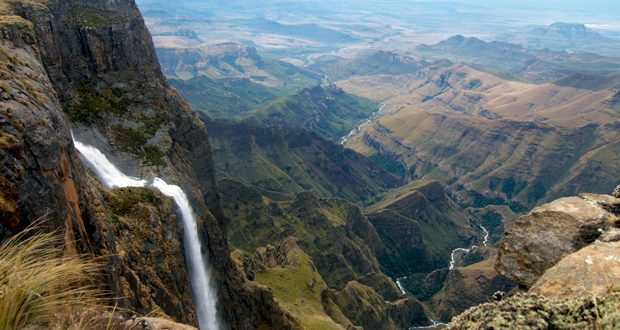 World's Tallest Waterfall Tugela Falls
