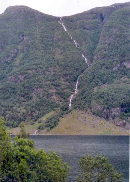 World's tallest Waterfalls Balåifossen