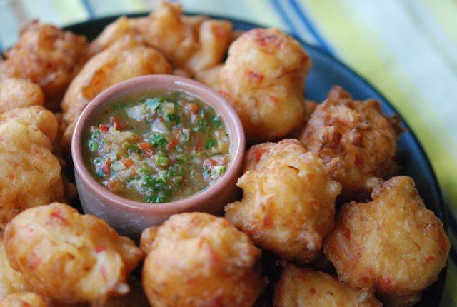 Accra – Vegan Malanga Fritters