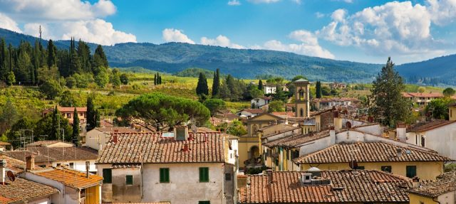 Day Trip from Florence Greve in Chianti