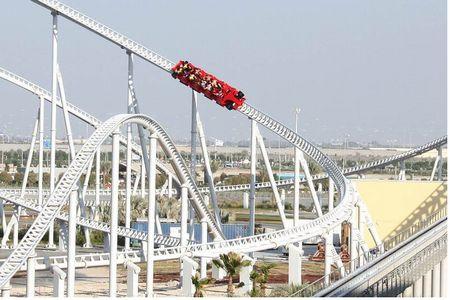 Formula Rossa Fastest Roller Coaster