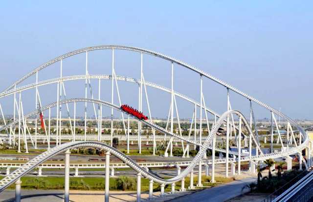 Formula Rossa Formula Rossa Fastest Roller Coaster in the World
