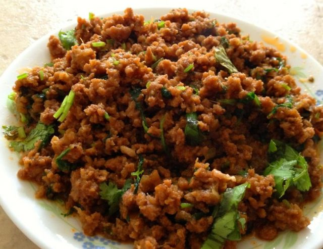 Iraqi Keema – Minced Meat