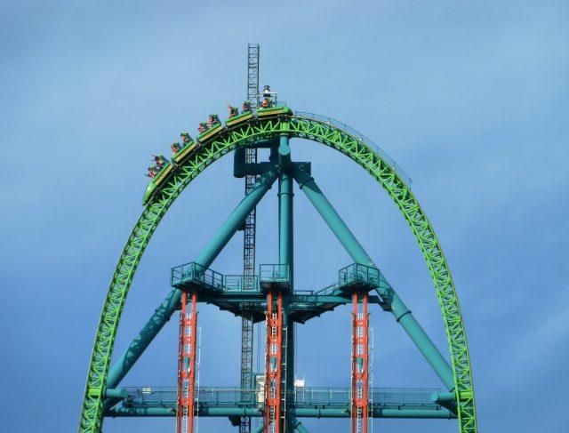 Kingda Ka Fastest Roller Coaster