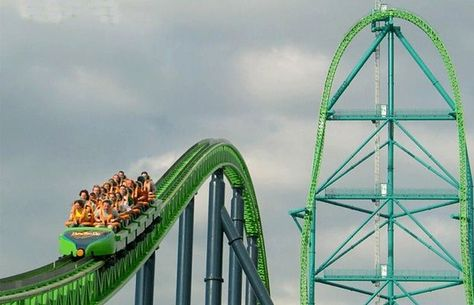 Kingda Ka Fastest Roller Coaster in America