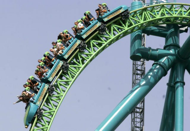 Kingda Ka Fastest Roller Coaster in the U.S