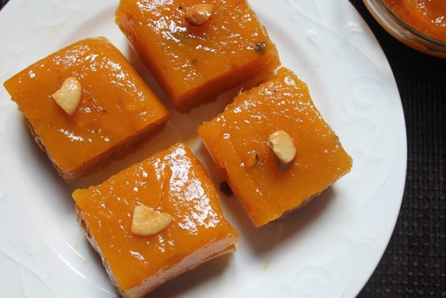 Mango Halwa Pulp Indian Dessert