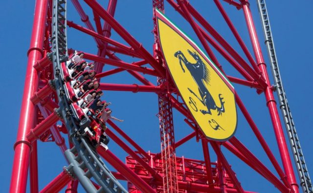 Red Force Fastest Roller Coaster
