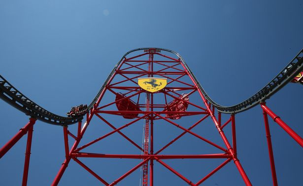 Red Force Fastest Roller Coaster in the World