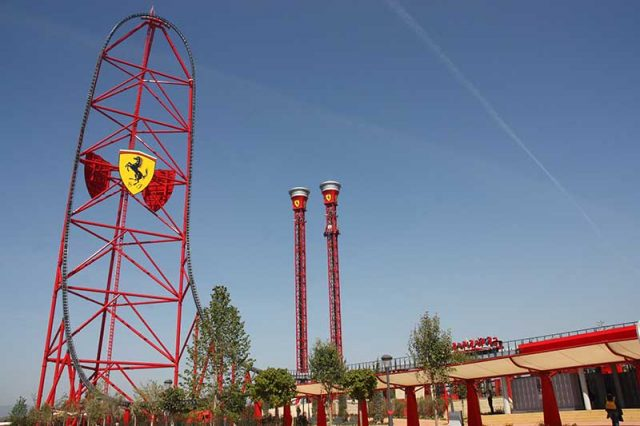Red Force World's Fastest Roller Coaster