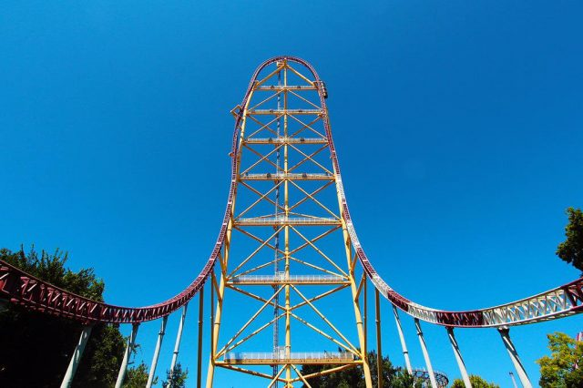 Top Thrill Dragster Cedar Point Fastest Roller Coaster