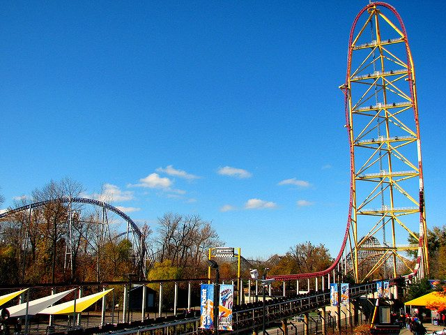 Top Thrill Dragster Fastest Roller Coaster in the World