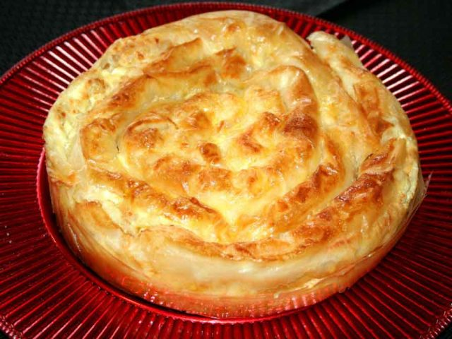 Banitsa – Bulgarian National Food Dish