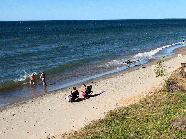 Beach Michigan Agate