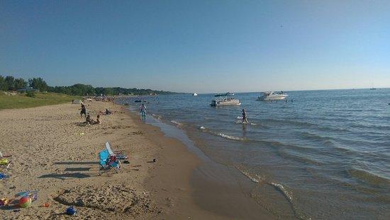 Beaches Michigan Silver Beach