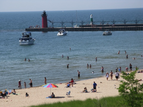 South Haven Beach Michigan Beaches