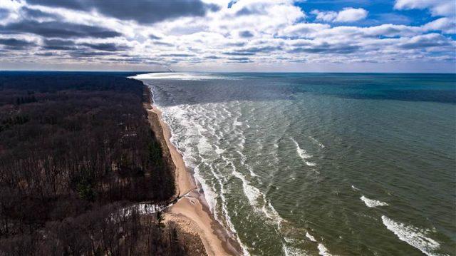 Cherry Beach Michigan