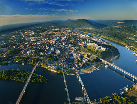 Family Weekend Trips from Atlanta Chattanooga