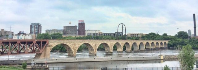 Free Things in Minneapolis the Stone Arch Bridge