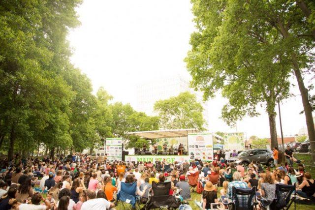 Free Things in Nashville Musicians Corner Centennial Park