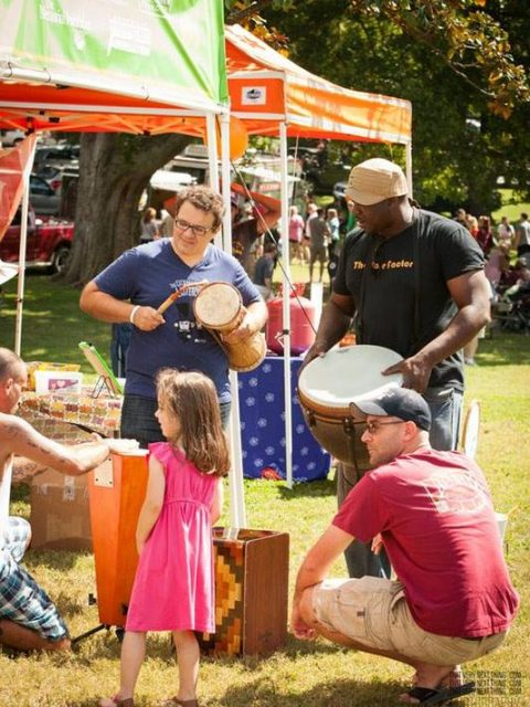 Fun Free Things to do in Nashville Musicians Corner Centennial Park