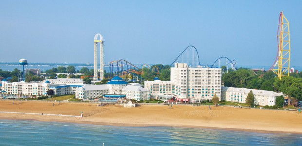 Lake Erie Beaches Michigan Cedar Point