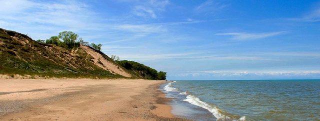 Lake Michigan Beaches Indiana