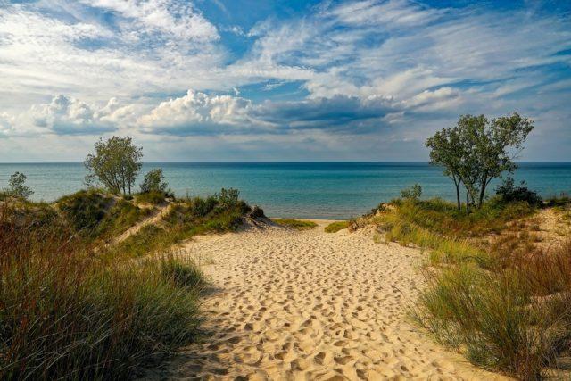Michigan City Indiana Beach