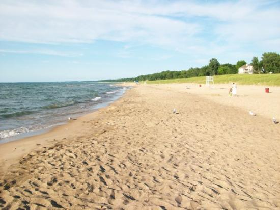 New Buffalo Michigan Beach