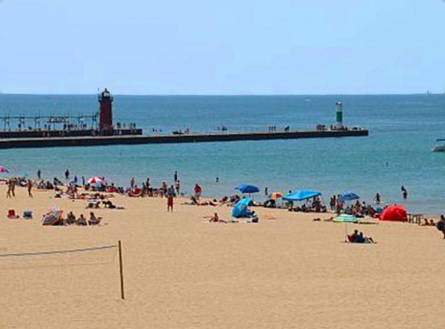 South Haven Michigan Beach South Beach