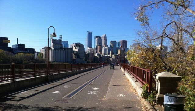 Things to do in Minneapolis for Free the Stone Arch Bridge