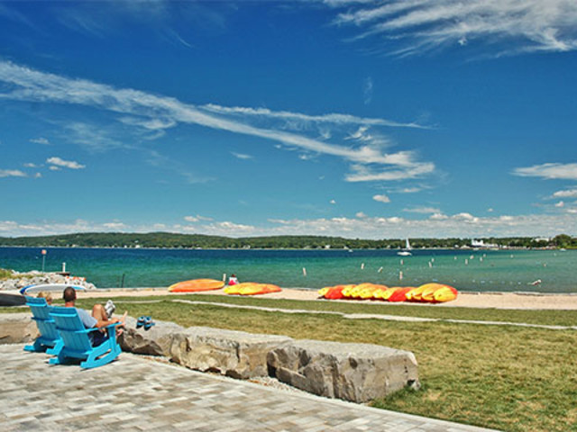 Traverse City Michigan Beach Clinch Park
