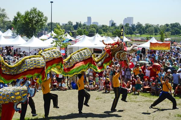 Denver Free Things to do Colorado Dragon Boat Festival