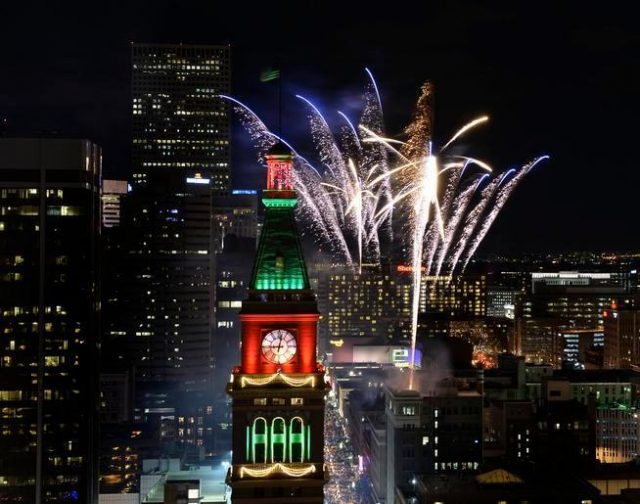 Denver Things to do Free New Year's Eve Fireworks Downtown