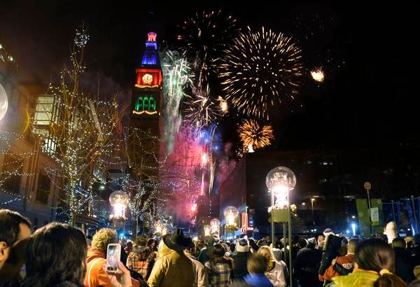 Free Fun Things to do in Denver New Year's Eve Fireworks Downtown