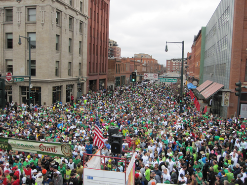 Free Things in Denver St. Patrick's Day Parade