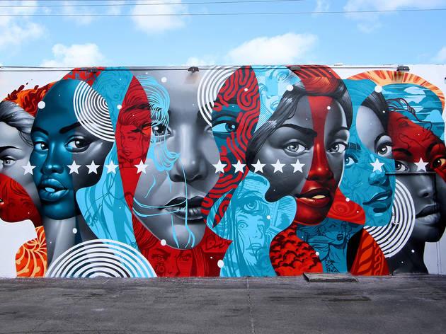 Free Things in Miami Wynwood Murals