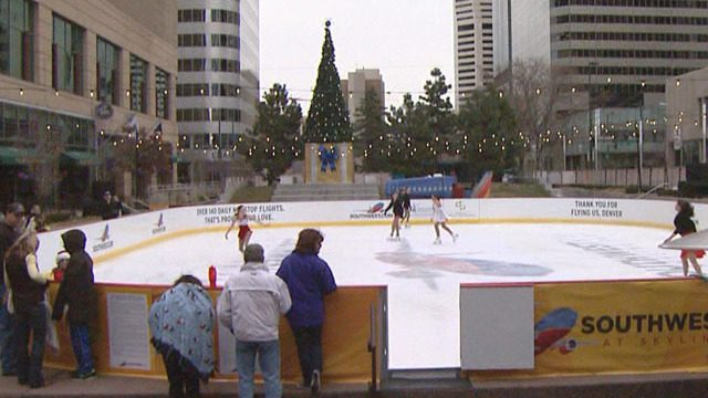 Free Things to do Denver Ice Skating at Skyline Park