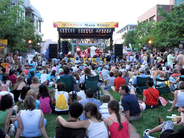 Fun Free Things to do in Denver Cherry Creek Arts Festival