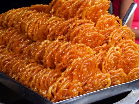 Jeri (Juri) – A Famous Crispy Sweet Dish