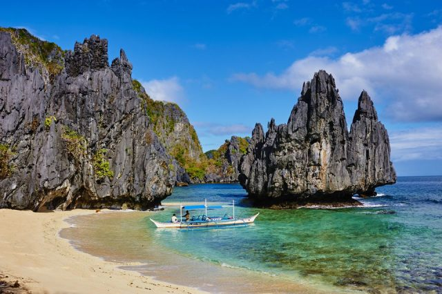 Most Beautiful Beach in the World El Nido