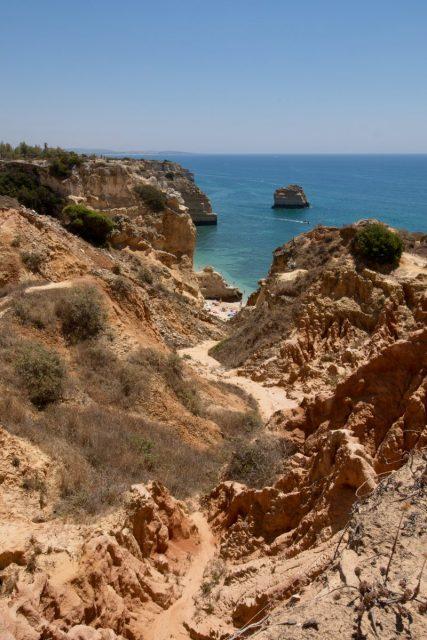 Most Beautiful Beach world Praia da Marinha