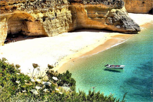 World's Most Beautiful Beaches Praia da Marinha