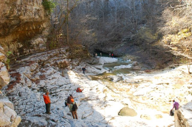 Alabama Hiking Walls of Jericho Trail Al