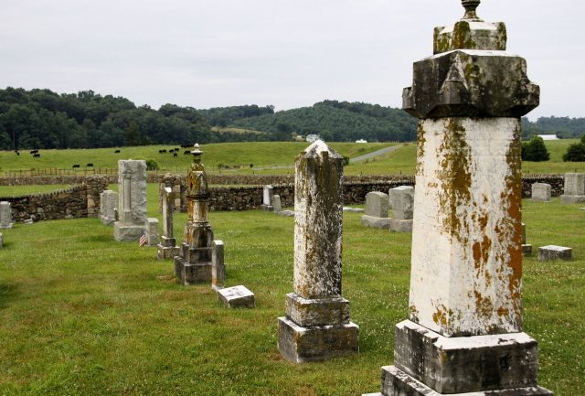 Haunted Places in Hebron Cemetery Kentucky