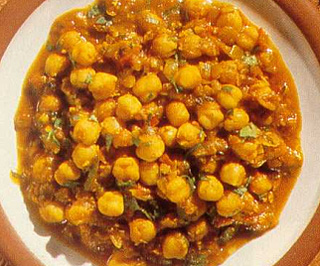 Chana – Healthy Stir-Cooked Chickpea Snack