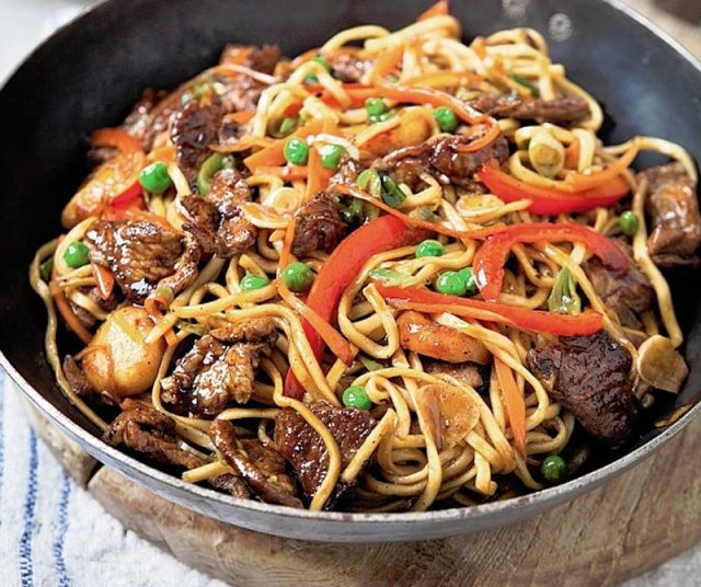 Chow Mein – Guyanese-Chinese Food Noodles